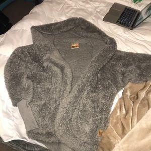 Sweaters - Nordic Beach Wrap